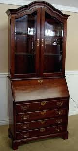 cherry secretary desk cherry secretary desk with hutch ethan allen cherry secretary desk