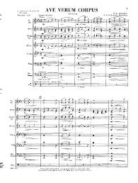 ave verum corpus sheet music ave verum corpus by mozart buehlman j w pepper sheet music