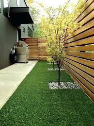 small garden fence ideas backyard privacy garden fence wood trees grill area small front garden fence