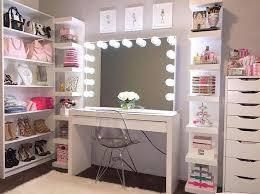 diy corner table ideas lovely 23 diy makeup room ideas organizer storage and decorating