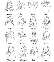 Baby Sign Language Chart Free Baby Sign Language Australia Free Printable Chart Google