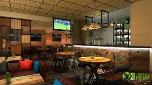 3D Bar Interior Design and Architectural walkthrough Animation - YouTube