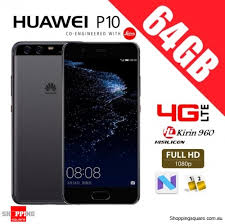huawei 4g lte. huawei p10 64gb vtr-l29 dual sim 4g lte unlocked smart phone graphite black 4g lte