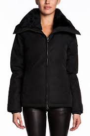 Image is loading NWT-Ladies-Canada-Goose-Thompson-Duck-Down-Jacket-
