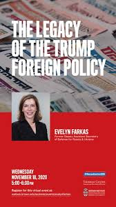 Evelyn Farkas — The Legacy of the Trump Foreign Policy | Taubman Center for  American Politics and Policy