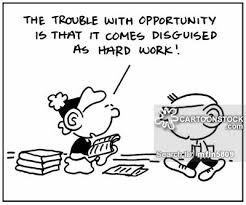 this first cartoon explains a lot about our society and how mislead we are about whether or not there are real opportunities it is almost edic how lazy