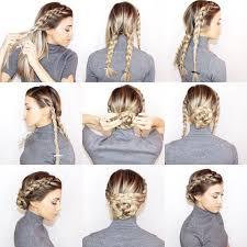Hairstyle Braid 18 easy braided bun hairstyle tutorials gurl 3839 by stevesalt.us