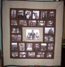 Make a Photo Memory Quilt | Photo quilts, College and Students & Like this idea for parents' anniversary memory quilt Adamdwight.com