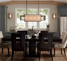 dining room lighting no chandelier. dining room, lighting over kitchen table slat back chair no chandelier in room black outdoor
