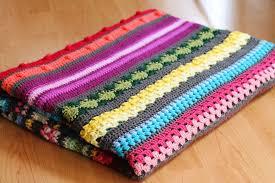 Patterned Blankets Magnificent Free Crochet Pattern Colourful Rainbow Sampler Blanket HaakMaarraak