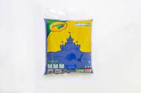 Crayola Play Sand Bag 20 Lb Blue Walmart Com Walmart Com