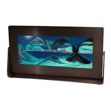 Colored Sandscape Art Medium Black Frames