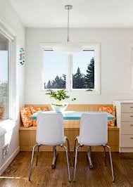 summer modern breakfast nook