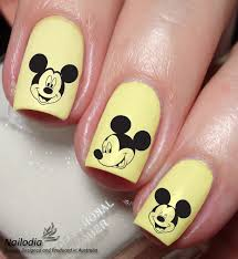 Mickey Mouse Disney Nail Art Sticker Water Transfer Decal 104 from ...