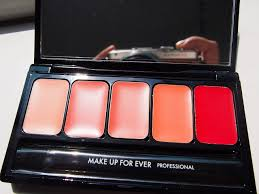 makeup forever lip palette my beauty d sponsored post make up for ever rouge artist palette 06 c shades swatches