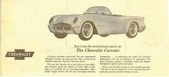Image result for 1953, the first Corvette,
