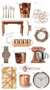 Copper Kitchen Decorations Trending Copper Rose Gold Home Decor For The Home Pinterest