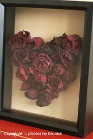 Rose Heart Shadow Box | DIY Home Decor | Dried Flowers