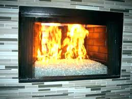 glass door fireplace insert doors open or closed s leave with