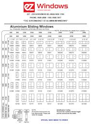 Standard Aluminium Sliding Windows Ez Windows Aluminium