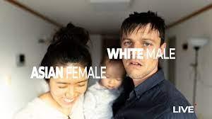White Male Asian Female