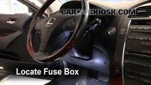 replace a fuse 2007 2012 lexus es350 2008 lexus es350 3 5l v6 2007 2012 lexus es350 interior fuse check