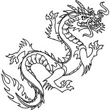 Coloring Pages Dragons Easy Dragon Coloring Pages Flying Coloring