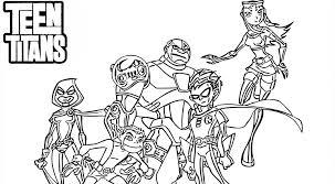 Kleurplaten Teen Titans Kleurplaat Gratis Kleurplaten Printen