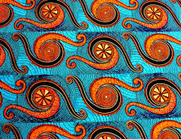 Ghana Fabric Designs 2 Yards Of Original African Fabric From The Shamash Sons