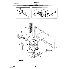 universal multiflex frigidaire zer parts model cfc09m7hw0 system