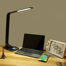 Laptop Reading Light Led Desk Lamp Touch Control Table Reading Light Office Study Eye Protection Lamp Ac220v