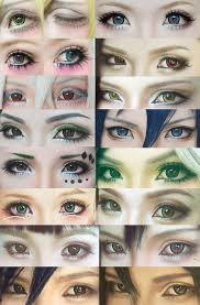 cosplay eyes make up collection 4 by mollyeberwein deviantart on deviantart