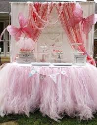 tulle table skirt diy tutu table skirt lots of layers of delicate pink tulle create a