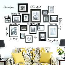 family picture frame word wall decal frames art stickers photo set of e words vinyl sticker