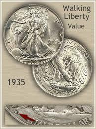 1935 Silver Half Dollar Value Chart 1935 Half Dollar Value Discover Their Worth