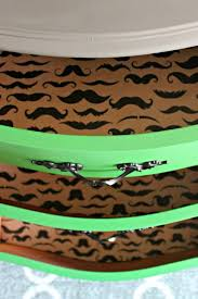 Line Dresser Drawers With Wrapping Paper. Mustache Craft, Big Boy Room