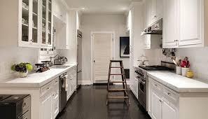 mid century modern galley kitchen. Home Decor : Galley Kitchen Design Layout Mid Century Modern L