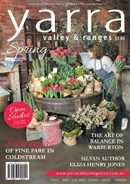Small Picture Yarra Valley Ranges Country Life magazine Spring 2017 Yarra