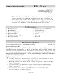 Administrative Assistant Resume Templates 2017 Best Of Example Of Administrative Assistant Resume Resume Examples 24