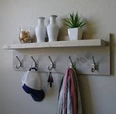 Coat Rack Attached To Wall Wall Mounted Coat Racks With Shelf Foter 41