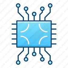 Download Circuit Electronics Technology Circuit Microprocessor Icon Inventicons