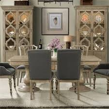 room riverside furniture corinne double pedestal dining table