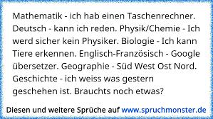Mathematik Ich Hab Einen Taschenrechner Deutsch Kann Ich Reden
