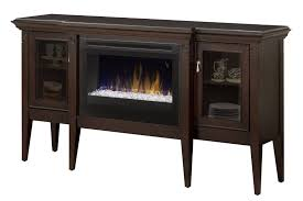 electric fireplace cabinet with acrylic ember bed to enlarge