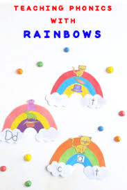 Word Families Template Teaching Phonics With Rainbow Word Families Craft And Free