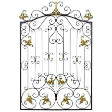 wood and metal gate wall decor  on heavens gate metal wall art with garden gates wall decor metal gate wall decor best metal wall art