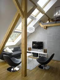 small attic loft apartment in prague idesignarch interior interior design atlanta bedroom interior design attic lighting ideas