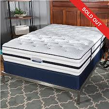 Simmons Beautyrest Recharge Romeo Tight Top Plush Mattress Set