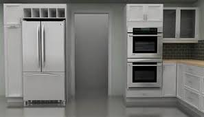 ikea kitchen cabinet double wall oven