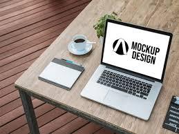 New Macbook For Graphic Design Macbook Graphic Design Mockup By Abdul Kasim On Dribbble